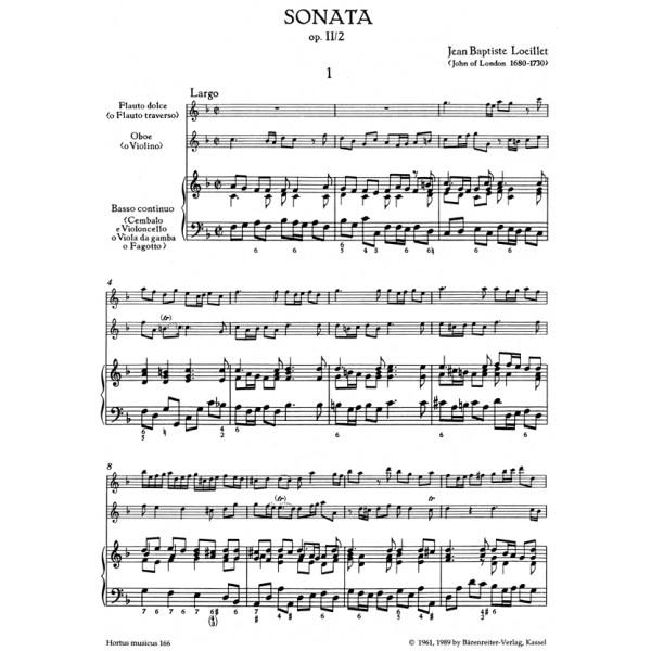 Loeillet J.B.(.O.L. - Trio Sonata in F, Op.2/ 2.