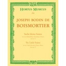 Boismortier J.B. de - Short Suites (6), from Op.27.