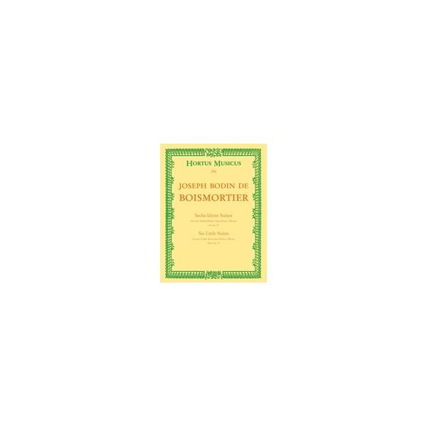 Boismortier J.B. de - Short Suites (6), from Op.27.