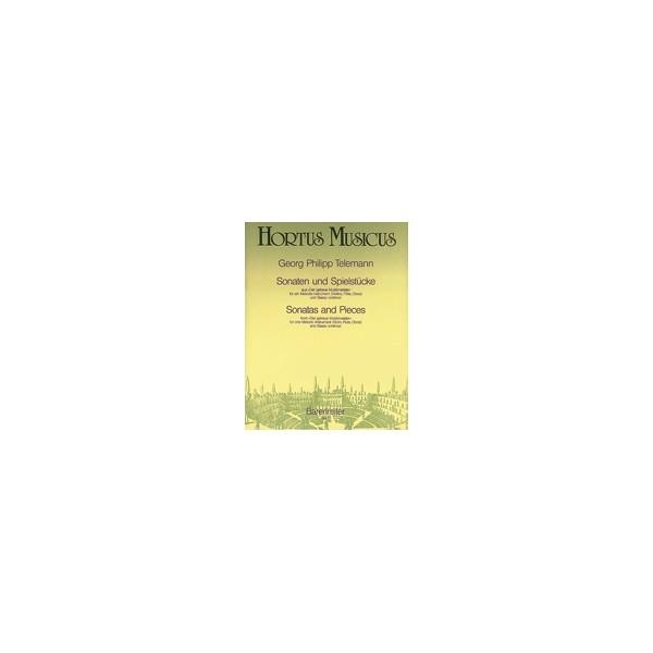 Telemann G.P. - Sonatas and Pieces (from Der getreue Musikmeister).