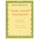 Telemann G.P. - Sonata in F (from Der getreue Musikmeister).