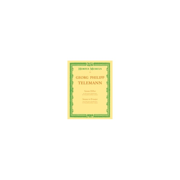 Telemann G.P. - Sonata in D (from Der getreue Musikmeister).