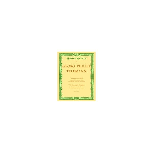 Telemann G.P. - Trio Sonata in E minor.
