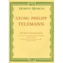 Telemann G.P. - Partitas (6). Little Chamber Music (TWV 41).