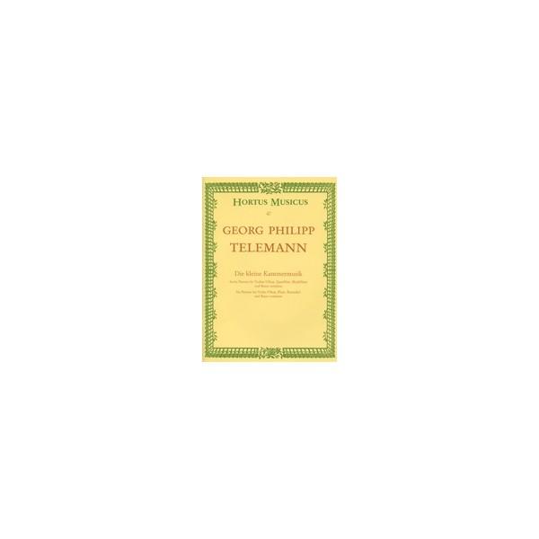 Telemann G.P. - Partitas (6). Little Chamber Music (TWV 41).