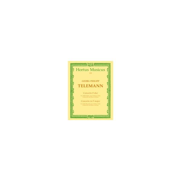 Telemann G.P. - Concerto for Treble Recorder in F.