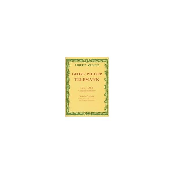 Telemann G.P. - Suite in G minor (from Der getreue Musikmeister).