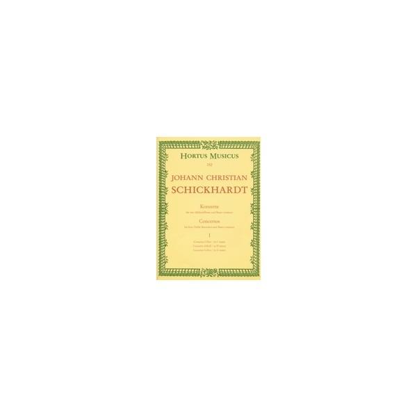 Schickhardt J.C. - Concerti, Vol. 1: No.1 - 3.