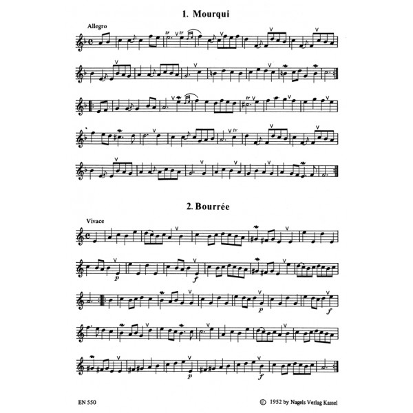 Various Composers - Dance Melodies from Leopold Mozarts Notebook for Wolfgang.