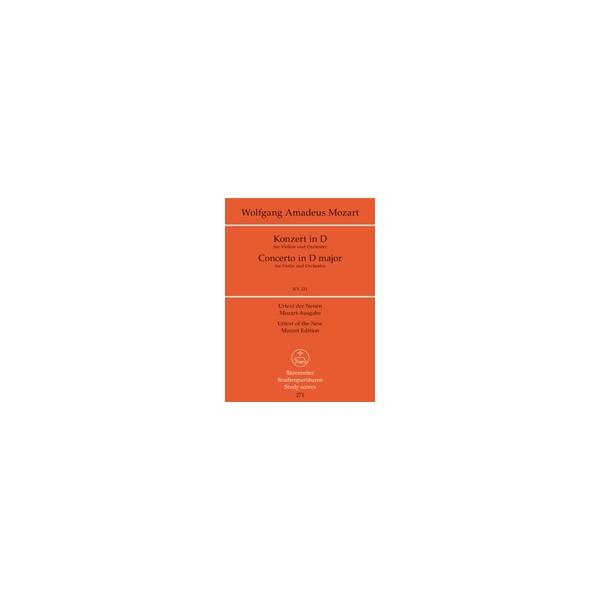 Mozart W.A. - Concerto for Violin No.2 in D (K.211) (Urtext).