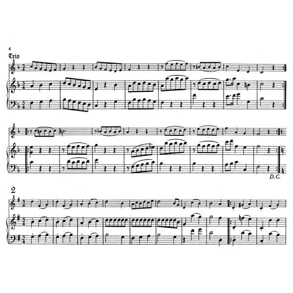 Mozart W.A. - Salzburg Minuets, Vol. 1 (K.65a).