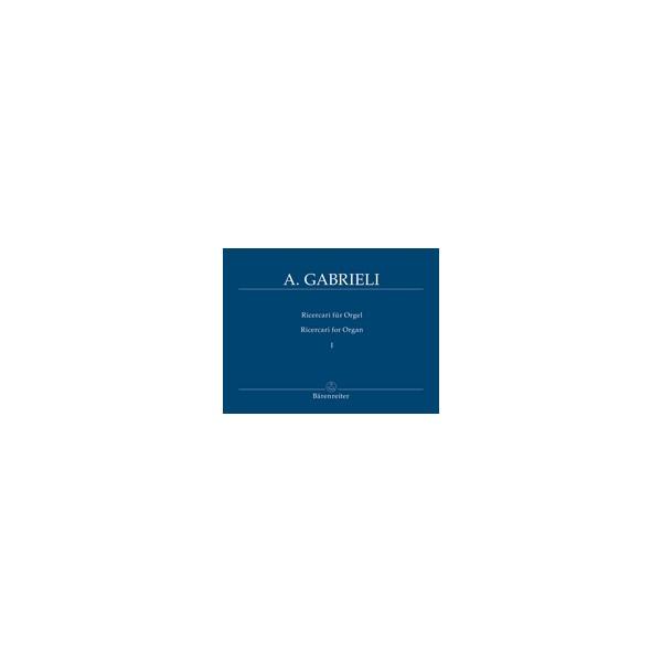 Gabrieli A. - Organ and Piano Works, Vol. 2: Ricercari I.