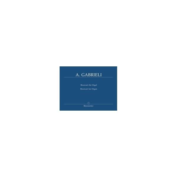Gabrieli A. - Organ and Piano Works, Vol. 3: Ricercari II.