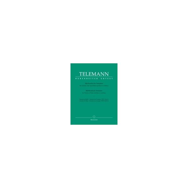 Telemann G.P. - Methodical Sonatas, Vol. 1: G minor, A (Urtext).