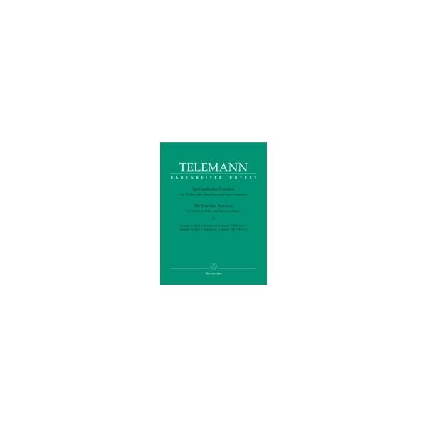 Telemann G.P. - Methodical Sonatas, Vol. 2: E minor, D (Urtext).