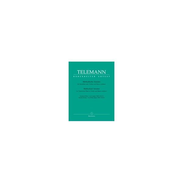 Telemann G.P. - Methodical Sonatas, Vol. 5: E, B-flat (Urtext).