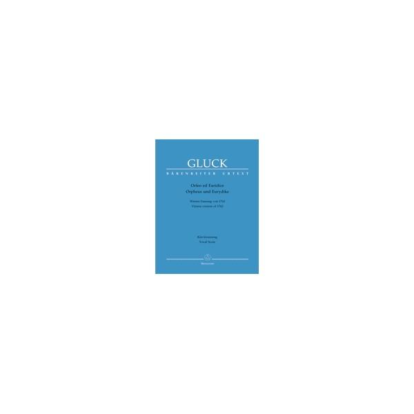 Gluck C.W.R. von - Orfeo ed Euridice (Vienna version-1762) (It-G) (Urtext).
