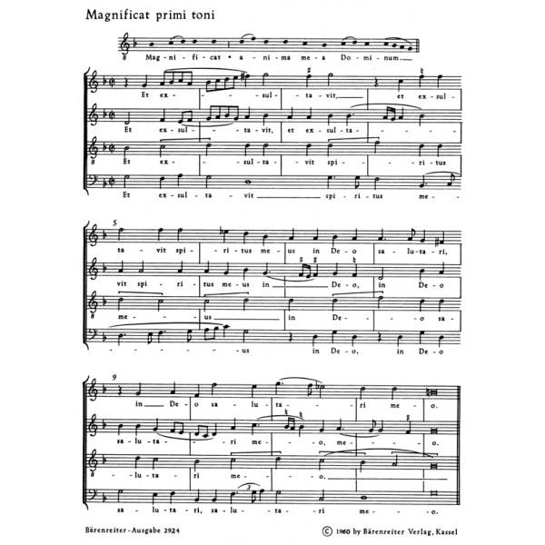 Lechner L. - Magnificat primi toni (Urtext).