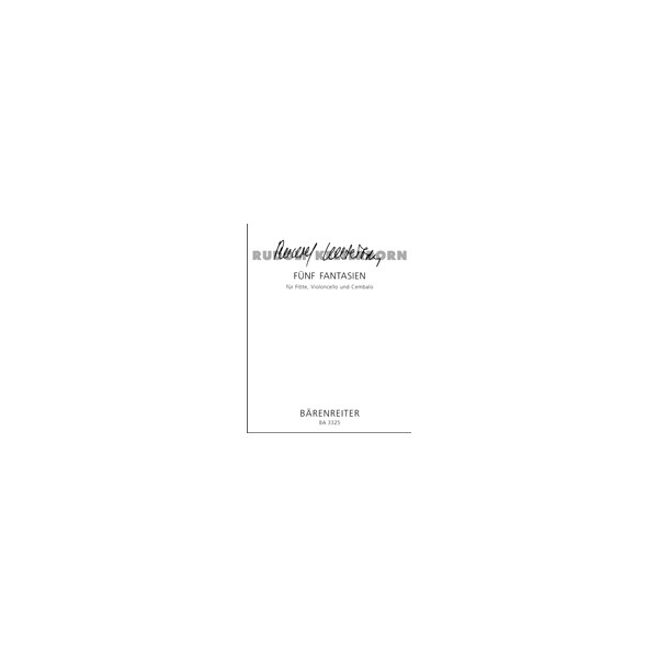 Kelterborn R. - Fantasies (5) (1958).