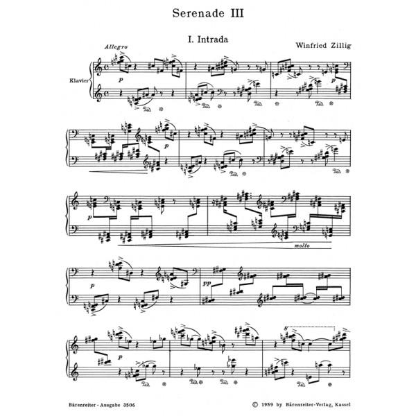 Zillig W. - Serenade No.3 (1931).
