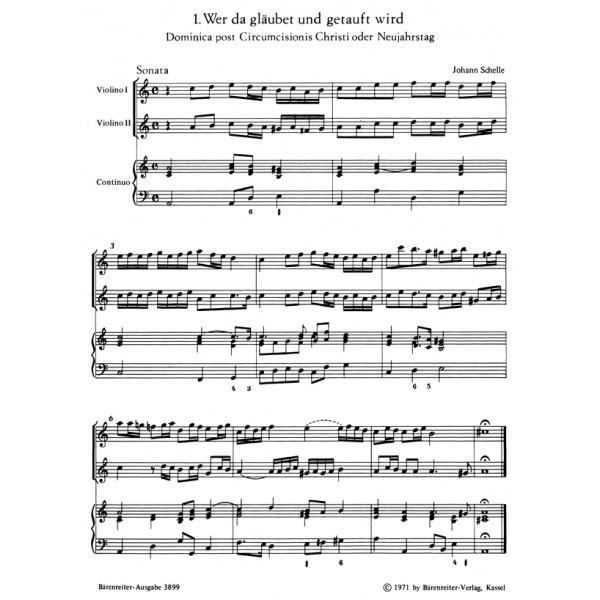 Schelle J. - Cantatas (6) (G).