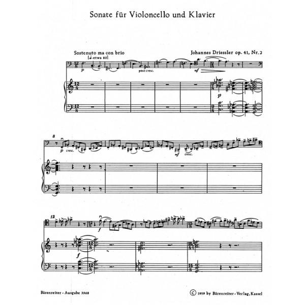 Driessler J. - Sonata.