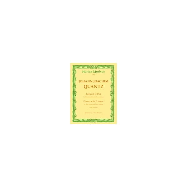 Quantz J.J. - Concerto for Flute in D (Pour Potsdam).