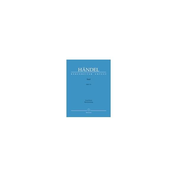 Handel G.F. - Saul. Oratorio (E-G) (Urtext).