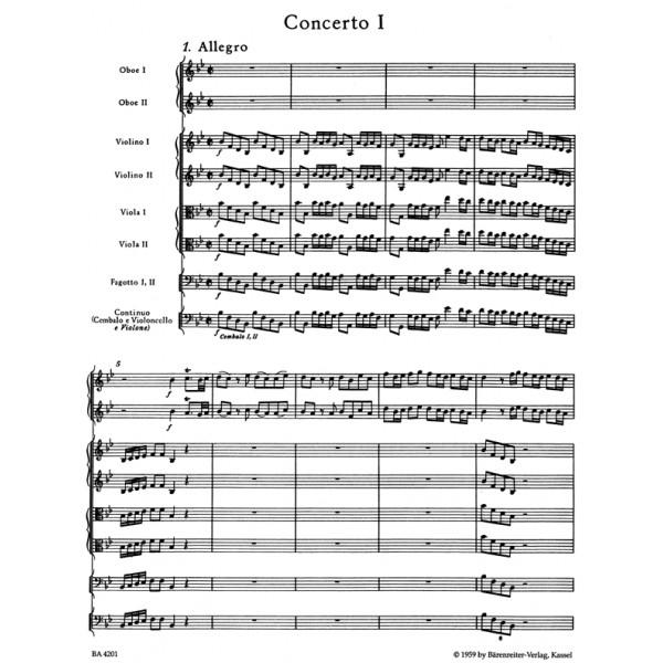 Handel G.F. - Concerto grosso Op.3/ 1 in B-flat (Urtext).