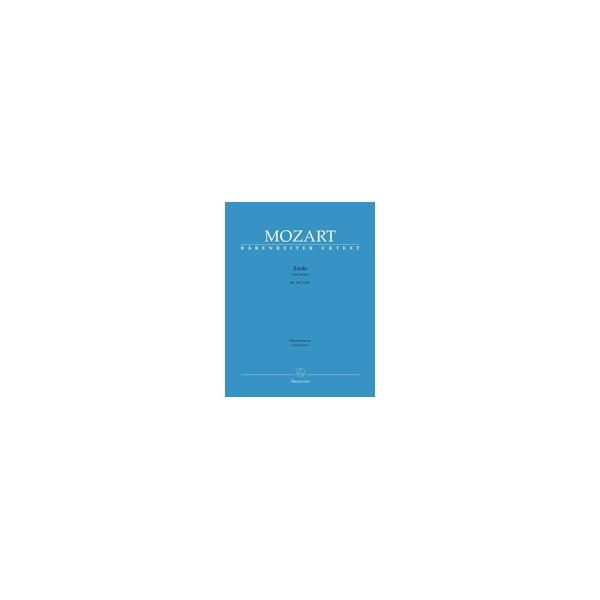Mozart W.A. - Zaide (complete opera) (Das Serail) (G) (K.344) (K.336b) (Urtext).