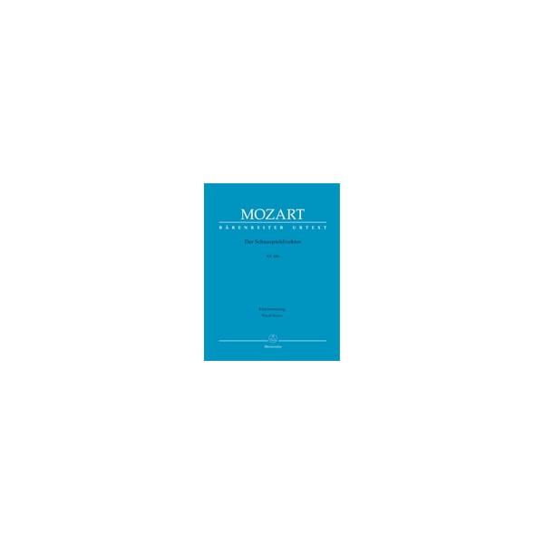Mozart W.A. - Impresario (complete opera) (G) (K.486) (Urtext).