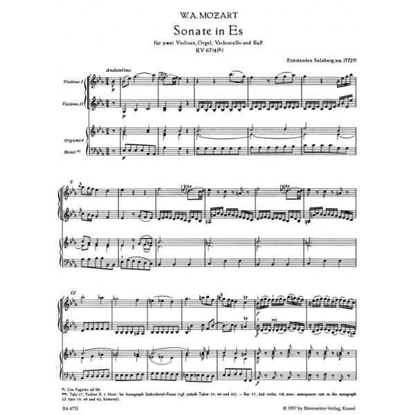 Mozart W.A. - Church Sonatas, Vol. 1: (K.67-69, 144, 145, 212, 224, 225, 241)