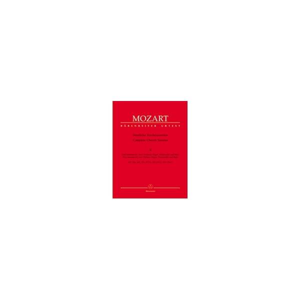 Mozart W.A. - Church Sonatas, Vol. 2: (K.244, 245, 274, 328, 336) (Urtext).