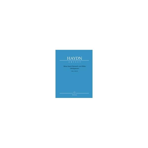 Haydn F.J. - Missa St. Bernardi von Offida (Heilig-Messe) (Hob.XXII:10) (Urtext)