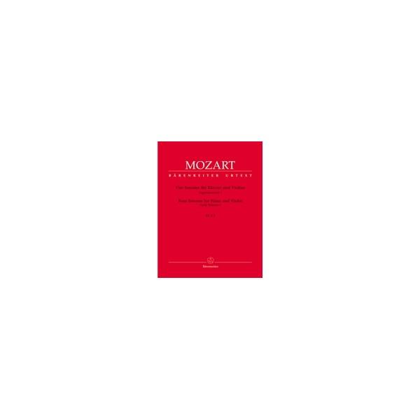 Mozart W.A. - Sonatas for Violin and Piano, Vol. 1: Early Sonatas (4) (K.6-9).