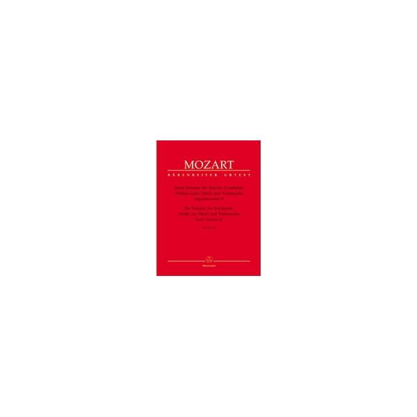 Mozart W.A. - Sonatas for Violin and Piano, Vol. 2: Early Sonatas (6).