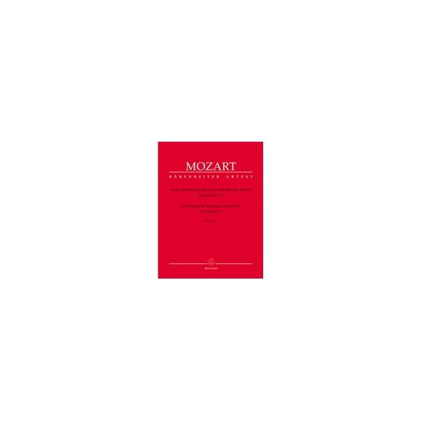Mozart W.A. - Sonatas for Violin and Piano, Vol. 3: Early Sonatas (6) (K.26-31).