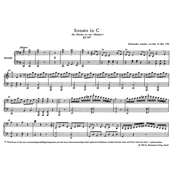 Mozart W.A. - Works for Piano Duet (Urtext).