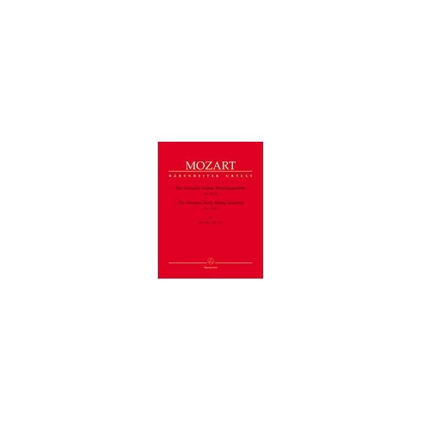 Mozart W.A. - String Quartets (Early) (13) (Urtext), Vol. 4 (K.171-173).