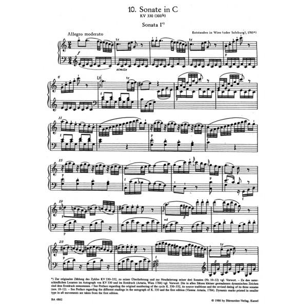 Mozart W.A. - Sonatas for Piano, Vol.2 (K.330-333, 457, 475, 533, 545, 570, 576)