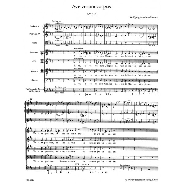 music analysis of ave verum Interesting finds updated daily amazon try prime all.
