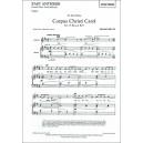 Britten, Benjamin - Corpus Christi Carol