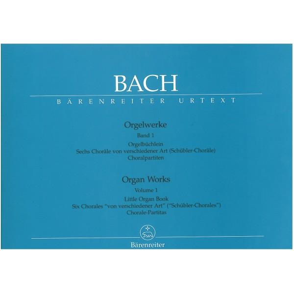 Bach J.S. - Organ Works Vol. 1: Orgelbuechlein, Schuebler Chorales, Partitas