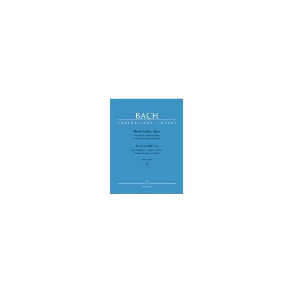 Bach J.S. - Trio Sonata in C minor (BWV 1079) (Urtext).