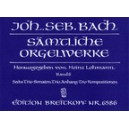 Bach J.S. - Organ Works Vol. 7: Six Sonatas & Various Separate Works (Urtext).