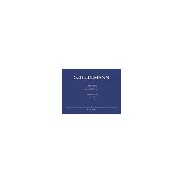 Scheidemann H. - Organ Works, Vol. 1: Choral arrangements.