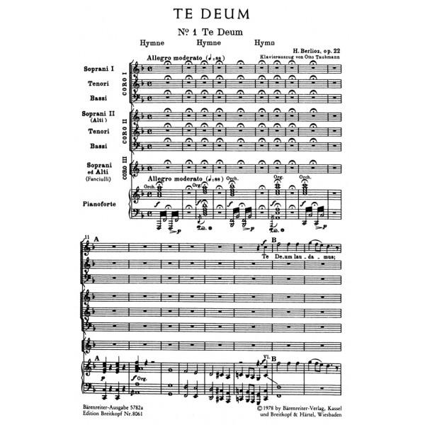 Berlioz H. - Te Deum, Op.22 (Urtext).