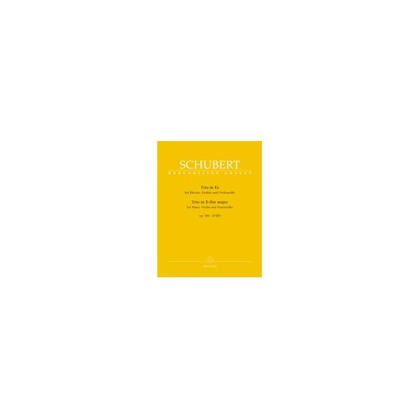 Schubert F. - Piano Trio in E-flat, Op.100 (D.929) (Urtext).