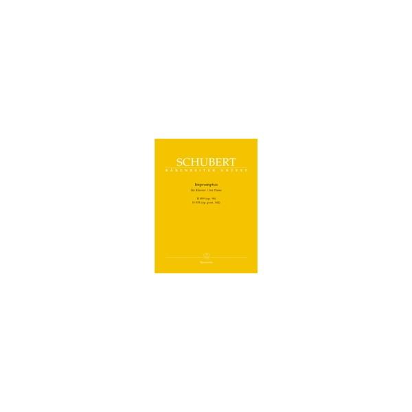Schubert F. - Impromptus, Op.90 (D.899), Op.posth.142 (D.935) (Urtext).