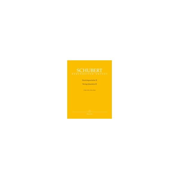 Schubert F. - String Quartets, Vol. 2 (D.18, 32, 36, 68) (Urtext).